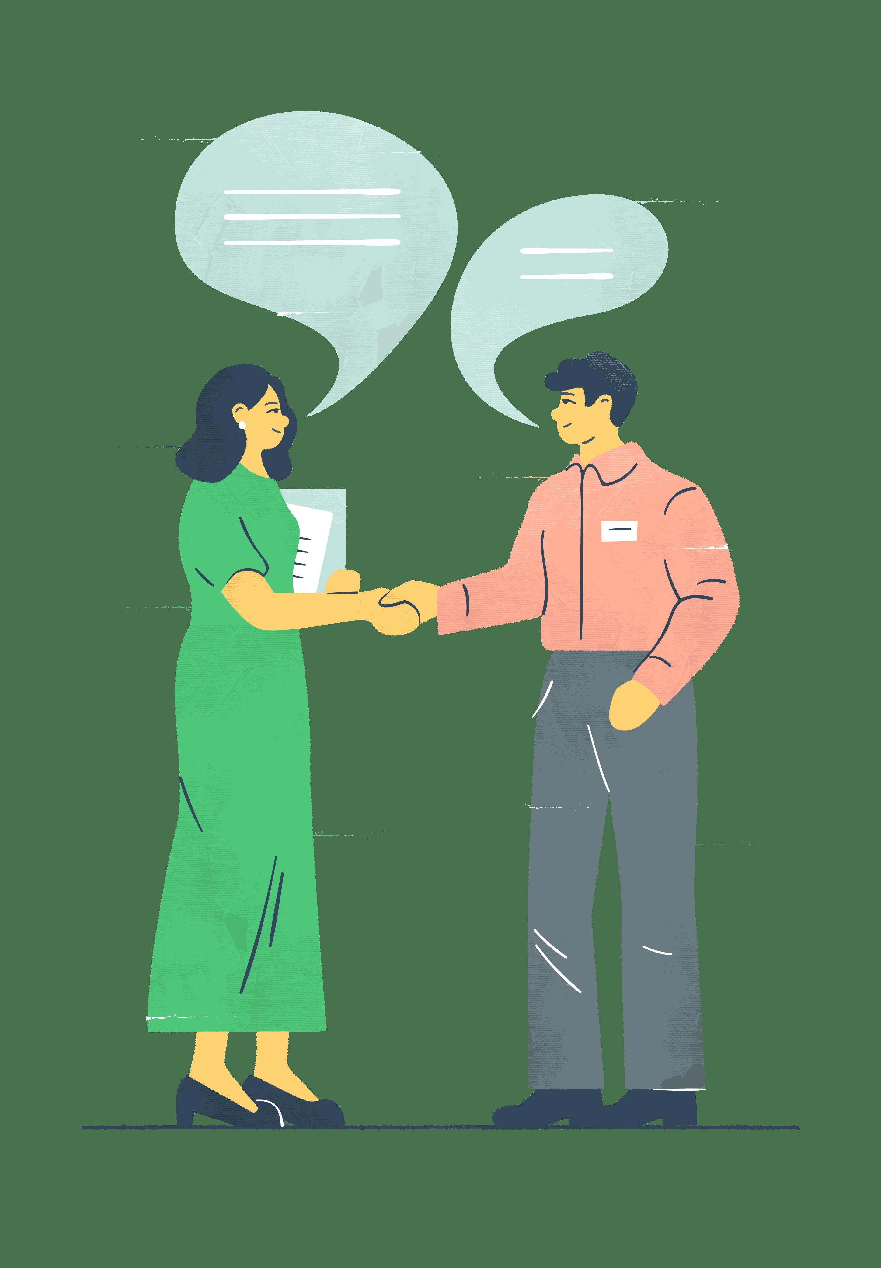 Kuvituskuva: myynti ja markkinointi alkavan yrittäjän näkökulmasta