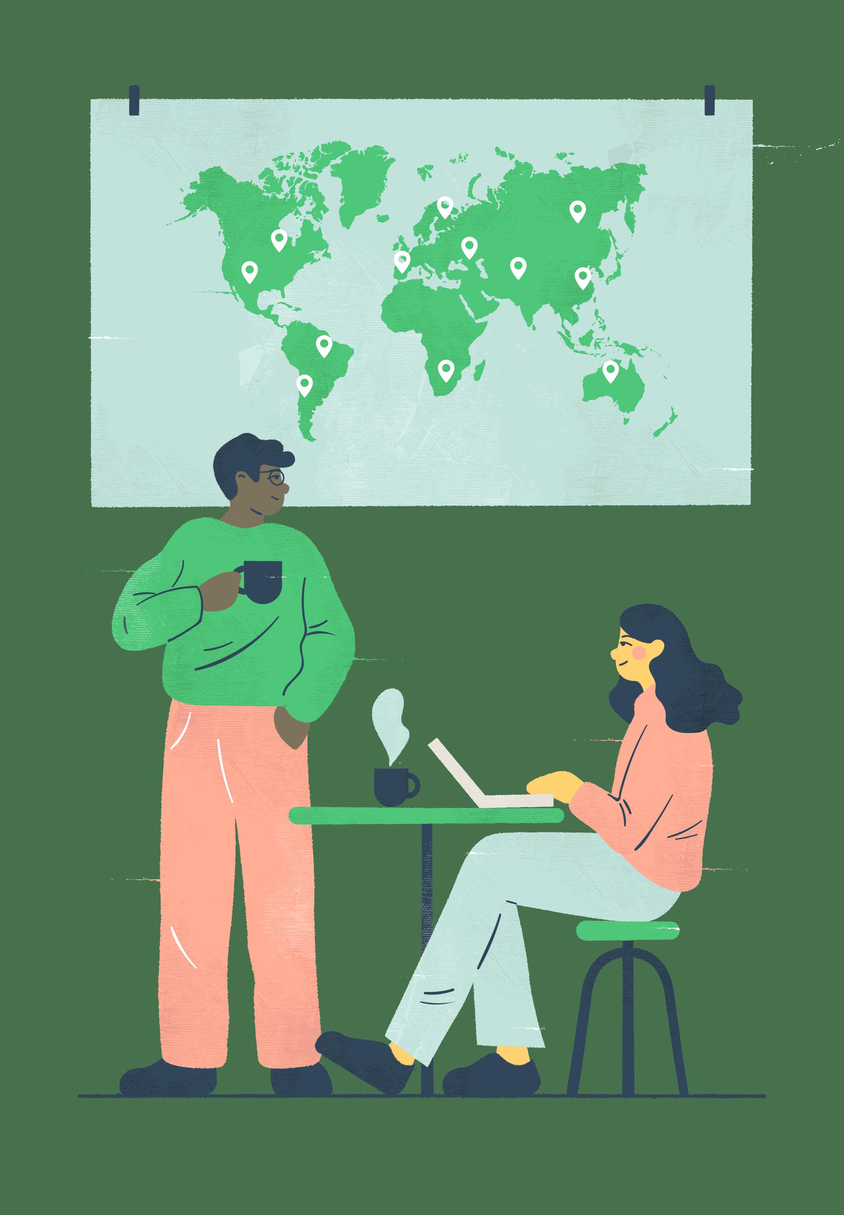 Kuvituskuva: yrityksen kehittäminen