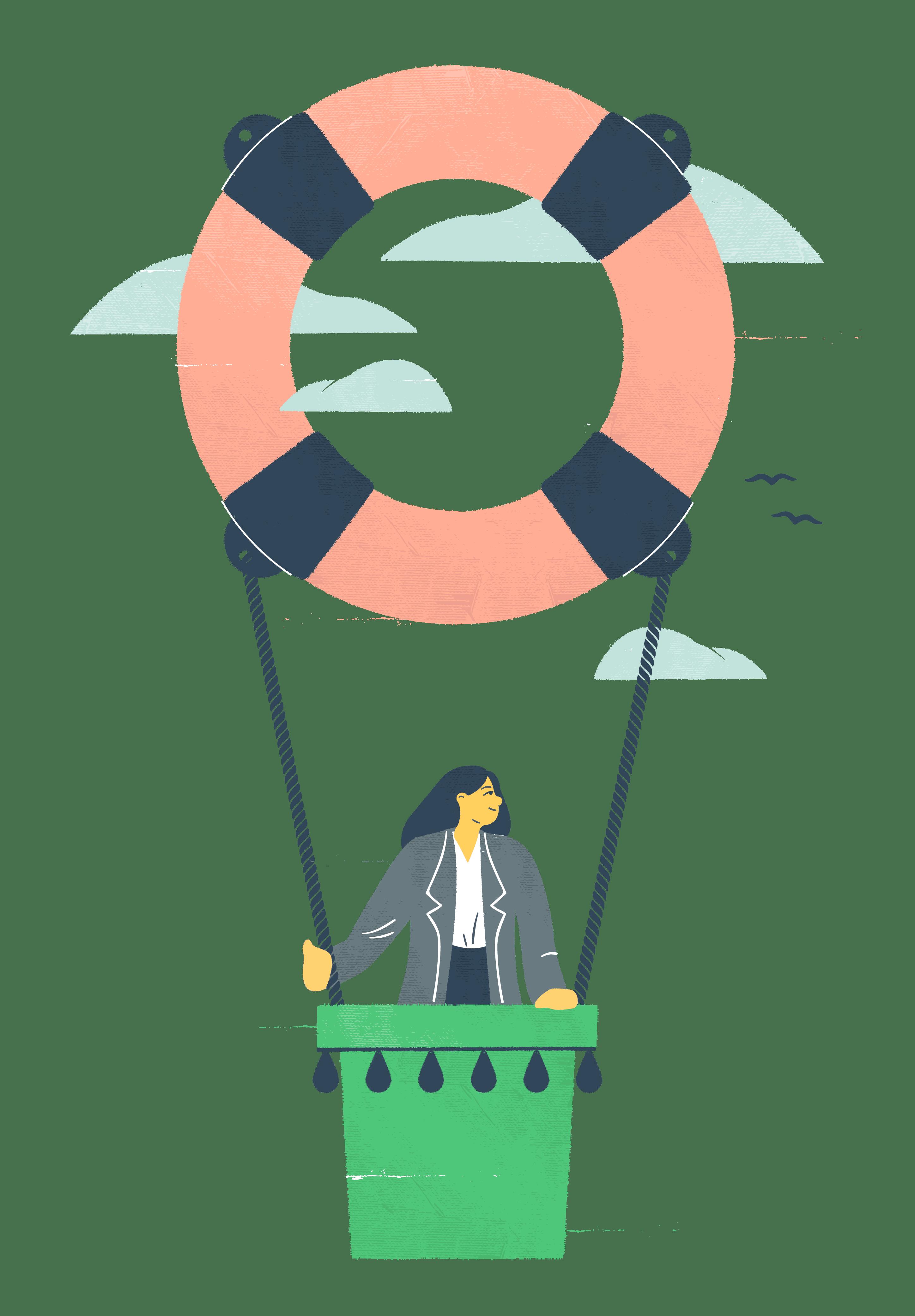 Kuvituskuva: työttömyysturva