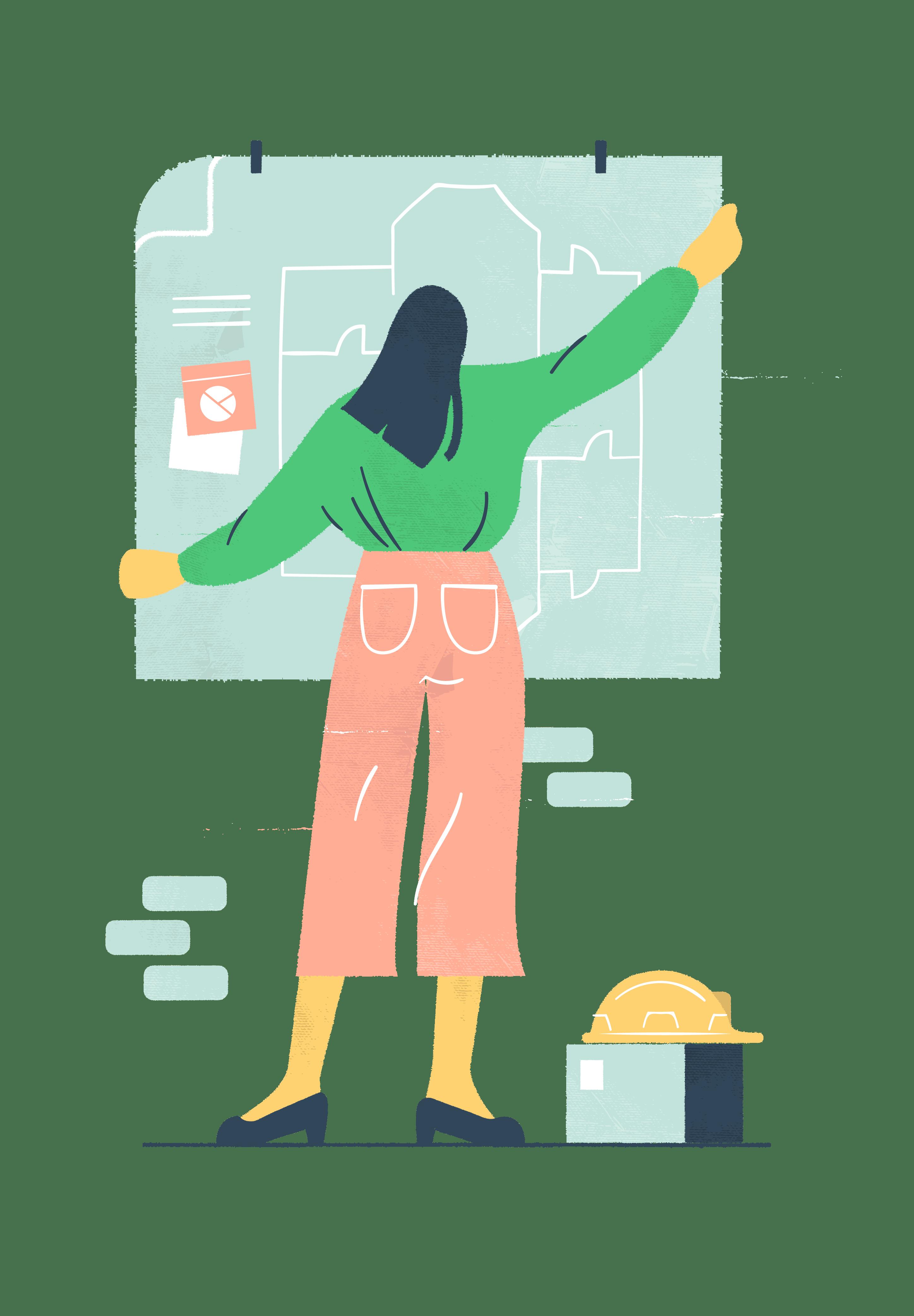 Kuvituskuva: liiketoimintasuunnitelma